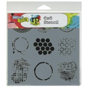 Crafter's Workshop Templates 15cm x 15cm -Well Rounded