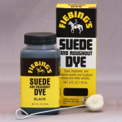 120ml Suede Dye Black By Fiebing