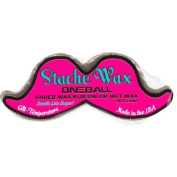 OneBallJay Moustache Shaped Wax One Colour, 90g