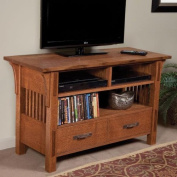 Arts and Crafts TV Table - Paper Plan