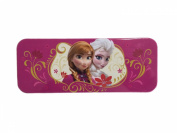Disney Frozen Elsa & Anna Pink Tin Pencil Case