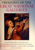 Treasures Of The Great National Galleries (An Introduction To The Paintings In The Famous Museums Of The Western World) [Hardback]