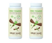 Little Twigs Baby Powder Unscented- 2 Pack