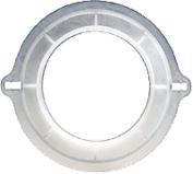 Convatec Visi-Flow Natura Irrigation Adapter Faceplate 5.1cm - 1.9cm Flange