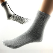 Power Ionics 1pair(2pcs) F.I.R Self Heat Magnetic Fibre Therapy Arthritis Thick Socks, HL024