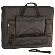 Royal Massage Deluxe Black Universal Oversized Massage Table Carry Case - 80cm