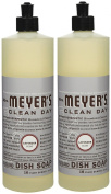 Mrs. Meyer's Clean Day Liquid Dish Soap, Lavender, 470ml-2 pack