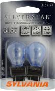 Sylvania 3157 ST SilverStar High Performance Halogen Miniature Lamp,