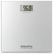 BalanceFrom BFHA-PM400SV High Accuracy Ultra Slim Digital Bathroom Scale, Silver