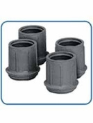 Walker Replacement Rubber Tips Grey