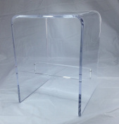 1.3cm Clear Acrylic Shower Bench