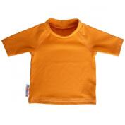 Bummis Swim Top UV-Tee with SPF 50 Protection, Orange, 3-6 m