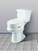 Carex Health Brands Elongated Hinged Toilet Seat Riser