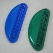 12 Ez Plastic Tube Squeezer Toothpaste Dispenser Holder Rolling Bathroom Extract