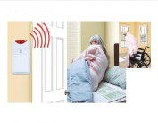 Cordless, Wireless Alarm With Both bed & Chair Pads