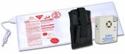 Secure® Bed Exit Alarm Set for Fall Prevention / Management - Set Includes Patient Alarm Monitor, Alarm Holder, 30cm x 80cm Antimicrobial Bed Sensor Pad