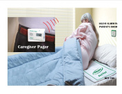 Wireless Monitor, Bed Pad & Pager (No Alarm in Patient's Room) Can Send Alert up to 46m From Pad to Pager