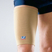 LP Four-Way Stretch Thigh Support (Unisex; Tan), X-Large