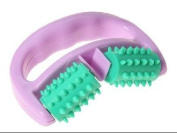 FACTOP New Hand-held Wheel Thigh Body Health Beauty Cellulite Control Roller Massager Random Colour