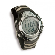 Talking Watch-Digital-Atomic with Black-Grey Band