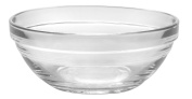 Duralex - Lys Stackable Clear Bowl 12 cm (4 3/4 in) Set Of 6