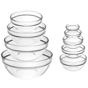 Luminarc Stackable 9-Piece Bowl Set