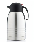 Primula 2-Litre Temp Assure Coffee Carafe, Stainless Steel/Black