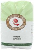 Six Bean Espresso, Whole Bean Coffee, 2.3kg Bag