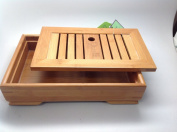 Tea Tray (Medium Size Bamboo Box) Item #Jy036