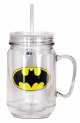 DC Comics Batman Mason Jar, Black
