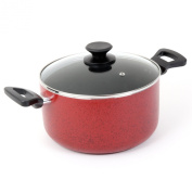 Oster 91116.02 Telford Covered Dutch Oven, 5.7l, Red