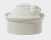 La Porcellana Bianca White Porcelain Rabbit Shaped Casserole Dish Terrine P001501016