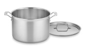 Cuisinart MCP66-28N MultiClad Pro Stainless 11.4l Stockpot with Cover