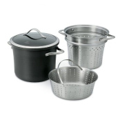 Calphalon 1876992 Contemporary Nonstick Dishwasher Safe Multi Pot with Steamer Insert, 7.6l