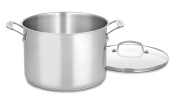 Cuisinart 76610-26G Chef's Classic 9.5l Stockpot with Glass Cover