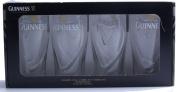 Guinness 590ml Gravity Pint Glass - 4 Pack
