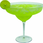 Oversized Extra Large Giant Margarita Glass - 33oz (970ml) - Fits about 3 typical margaritas!