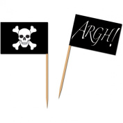 Pirate Flag Picks Party Accessory (1 count)