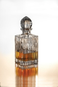 Crystal Clear Alexandria Crystal Square Whiskey Decanter