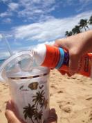 Sunscreen Bottle Stealth Flask 240ml