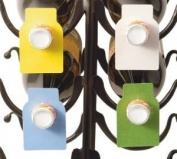 Wine Bottle Tags Paper (100) | 8076, #1387
