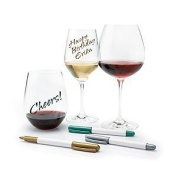 Wine Glass Writer Metallic Pens -6 Pack
