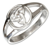 Stainless Steel Celtic Trinity Knot Ring