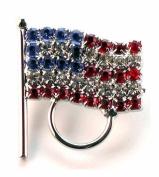American Flag Eyeglass Holder Pin
