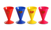 Jelly Belly Reusable Cone Cups, Assorted Colours