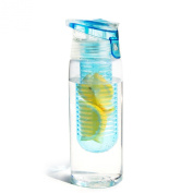 Asobu Pure Flavour 2 Go Water Bottle, Sky Blue
