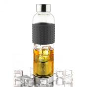 Asobu Ice Infuser Bottle To-Go, Black