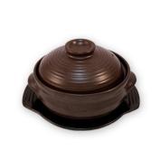 Korean Stone Bowl (Dolsot), Sizzling Hot Pot for Bibimbap and Soup (Medium with Lid) - Premium Ceramic