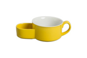 BIA Cordon Bleu 402453+863 Cracker and Soup Bowl, 440ml, Sun Yellow and White