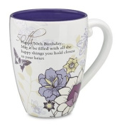Mark My Words 50th Birthday Mug, 12cm , 500ml Capacity